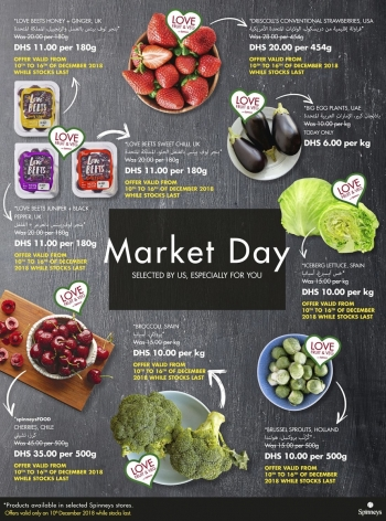 Spinneys  Spinneys Market Day Offers 10 December