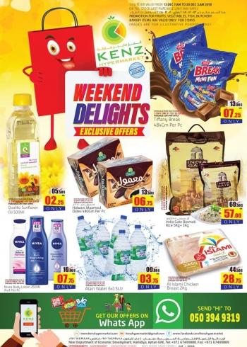 Kenz Kenz Hypermarket Weekend Offers