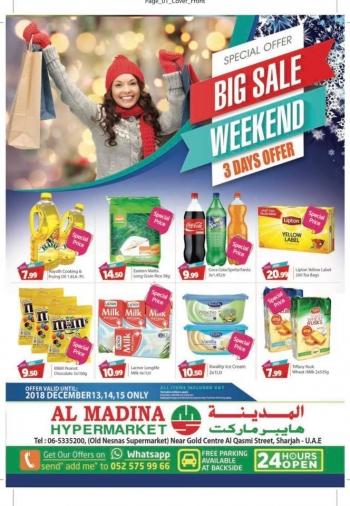 Al Madina Hypermarket  Mega weekend sale