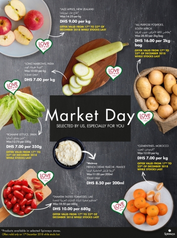 Spinneys Spinneys Market Day Offers 17 December