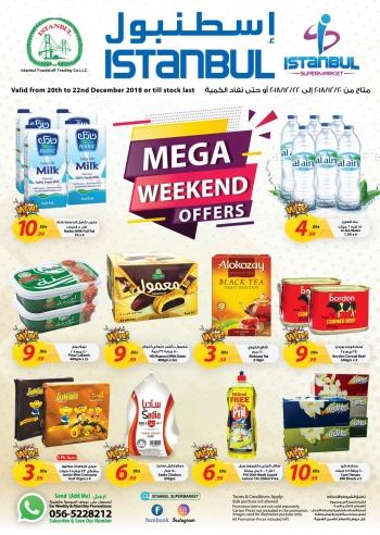 Istanbul Supermarket Istanbul Supermarket Mega Weekend Offer