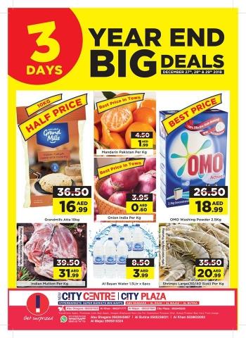City Centre Supermarket City Centre  3 Days Year End  Big Deals