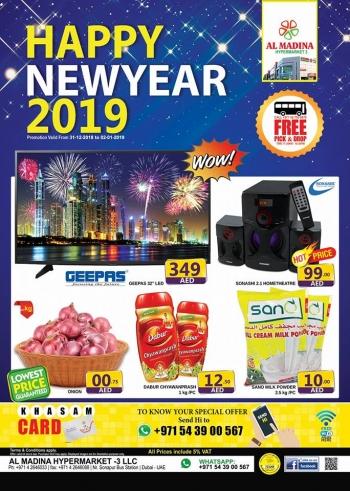 Al Madina Hypermarket Al Madina Hypermarket  New year Deals