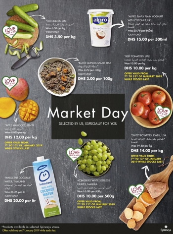 Spinneys Spinneys Market Day Offers 07 January 2019