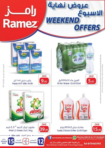 Ramez Ramez Weekend offers @ Ras Al Khaimah
