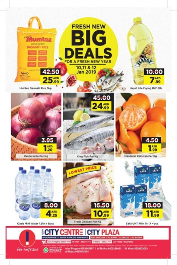 City Centre Supermarket City Centre  Fresh New Big Deals