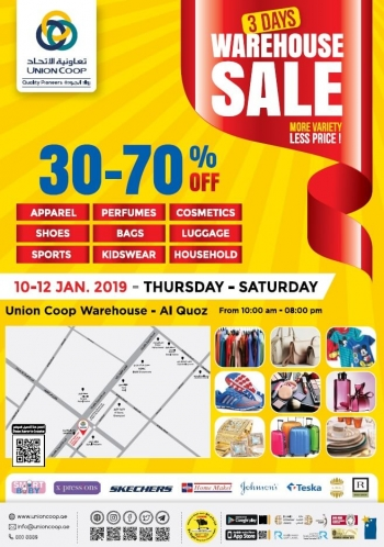 Union Cooperative Society Union Coop  Warehouse Sale