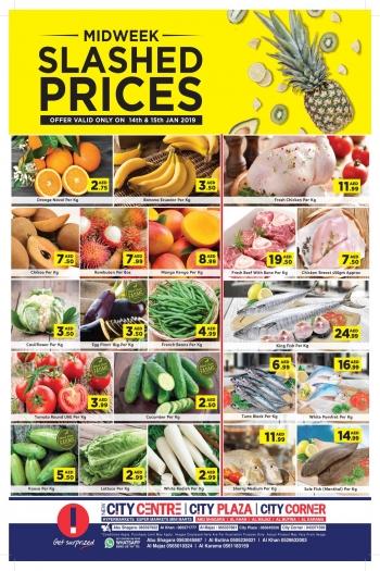 City Centre Supermarket City Centre Midweek Slashed Prices Deals