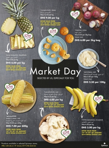 Spinneys Spinneys Market Day Offers 14 January