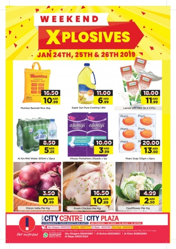 City Centre Supermarket City Centre Weekend Xplosives Offers
