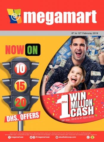 Megamart  Megamart Win 1 Million AED Cash