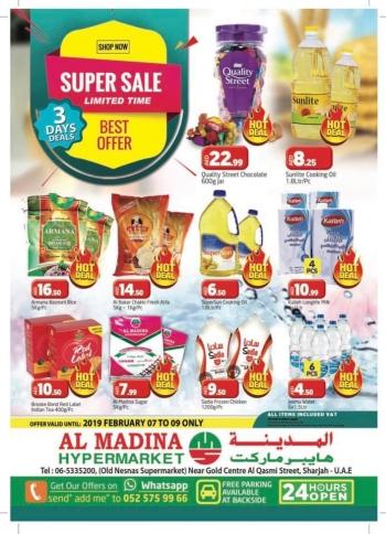 Al Madina Hypermarket Al Madina Hypermarket Super Sale Offers In Sharjah