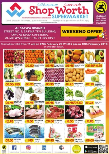 West Zone Fresh Supermarket West Zone Fresh Supermarket  Weekend Offers