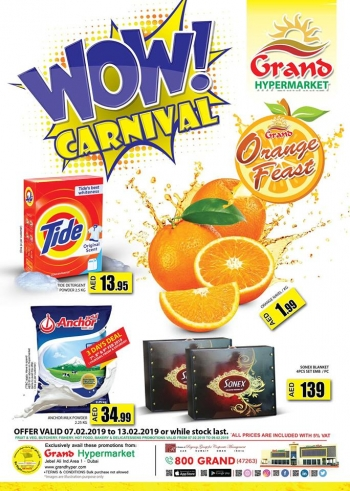 Grand Hypermarket Grand Hypermarket Wow Carnival In Jebel Ali