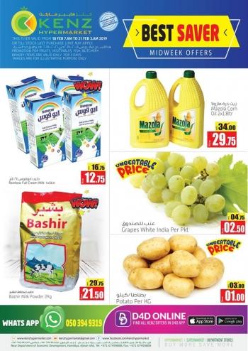 Kenz Kenz Hypermarket Best saver  Midweek Offers