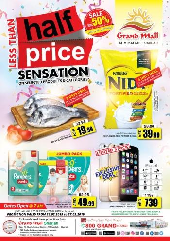 Grand Hypermarket Less than Half Price Sensation