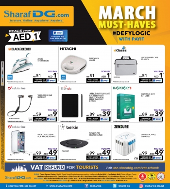 Sharaf DG Sharaf DG  Great Offers