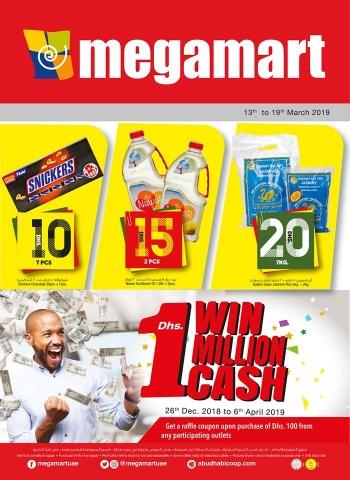 Megamart Megamart Flat Dhs.10/15/20 offers