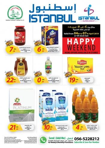 Istanbul Supermarket Istanbul Supermarket Happy Weekend Offers