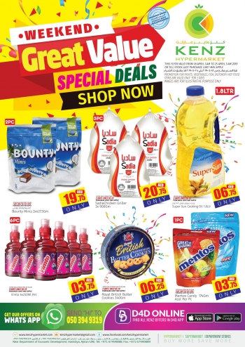 Kenz Hypermarket Weekend Great Value Deals