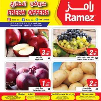 Ramez Fresh Offers In UAE
