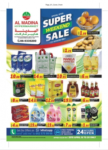 Al Madina Hypermarket Super Weekend Sale