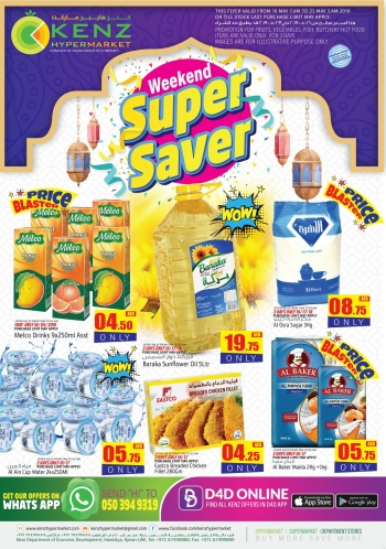 Kenz Kenz Hypermarket  Weekend Super Saver Offers