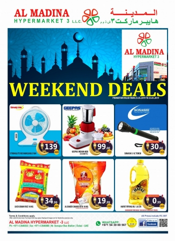Al Madina Hypermarket Weekend Deals