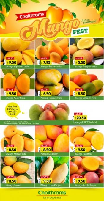Choithrams Choithrams Mango Fest