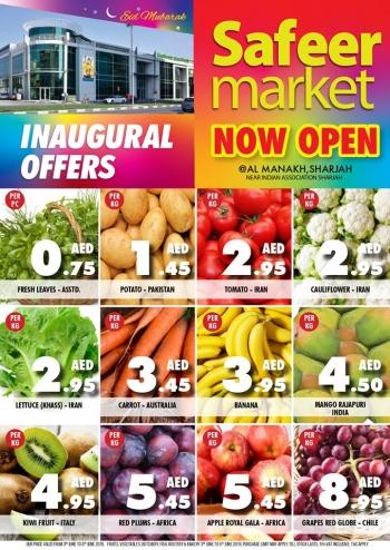 Safeer Market Safeer Market Inaugural Offer In UAE