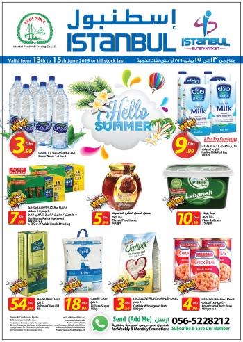 Istanbul Supermarket Istanbul Supermarket Hello Summer Offers