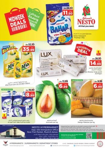 Nesto Nesto Hypermarket Midweek Deals @ Mushrif