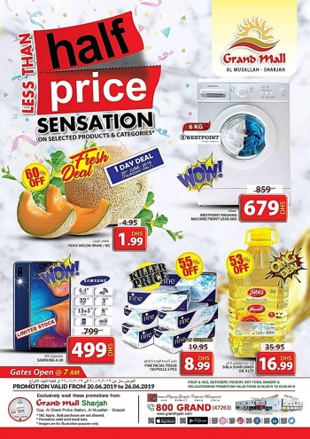 Grand Hypermarket Grand Mall Less Than Half Price Sensation