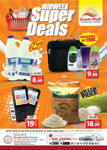 Grand Hypermarket Grand Mall Midweek Super Deals