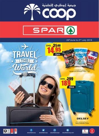 SPAR SPAR Travel The World Offers