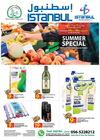 Istanbul Supermarket Istanbul Supermarket Summer Special Offers