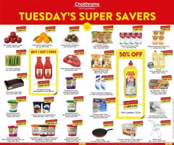 Choithrams Choithrams Tuesday Super Savers Offers 09 July 2019