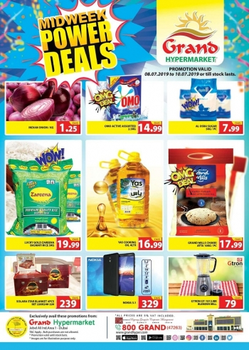 Grand Hypermarket Grand Hypermarket Midweek Power Deals