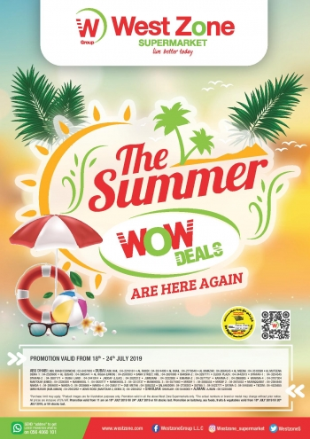 West Zone Fresh Supermarket West Zone Fresh Supermarket Summer Wow Deals