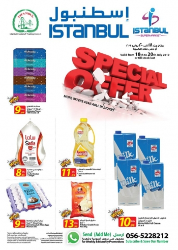 Istanbul Supermarket Istanbul Supermarket Weekend Special Offers