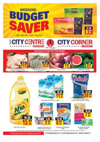 City Centre Supermarket City Centre Weekend Budget Saver Great Offers