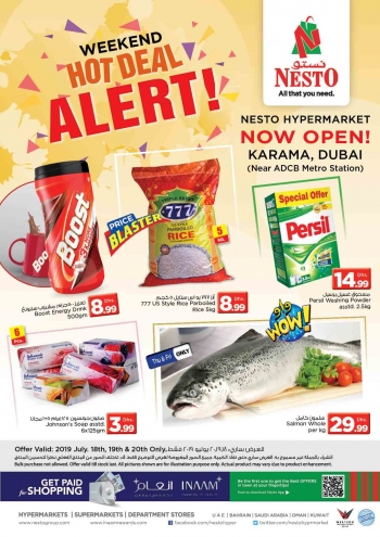 Nesto Nesto Hypermarket Karama Weekend Deals