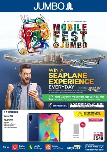 Jumbo Electronics Mobile Fest Offers