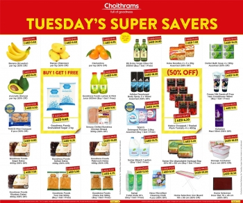 Choithrams Choithrams Tuesday Super Savers Offers 23 July 2019