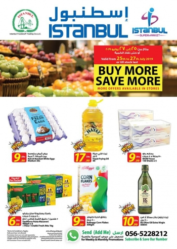 Istanbul Supermarket Istanbul Supermarket Buy More Save More Offers