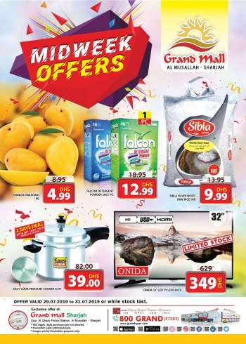 Grand Hypermarket Grand Mall Best Midweek Offers