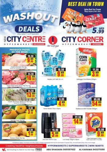 City Centre Supermarket New City Centre Hypermarket Washout Deals