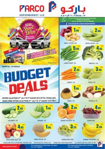 PARCO Hypermarket PARCO Supermarket Budget Deals
