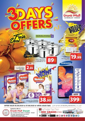 Grand Hypermarket Grand Mall 3 Days Offers