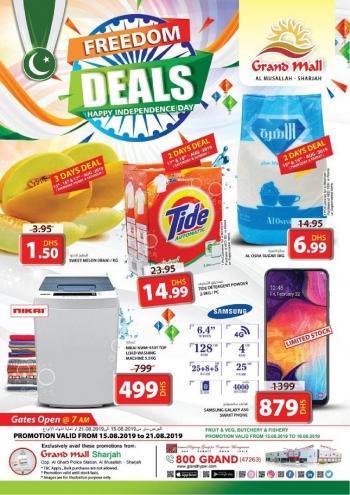 Grand Hypermarket Grand Mall Freedom Deals
